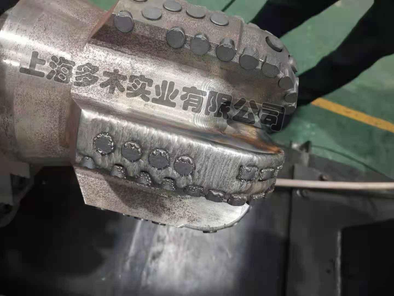 PDC石油钻头表面等离子喷焊案例图片