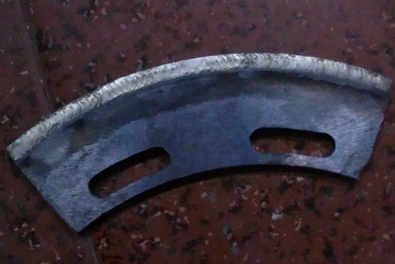 农机刀片等离子堆焊机处理图片