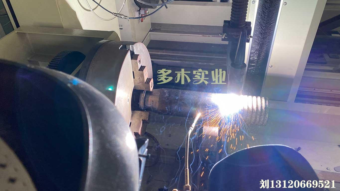等离子电源应用于柱塞堆焊