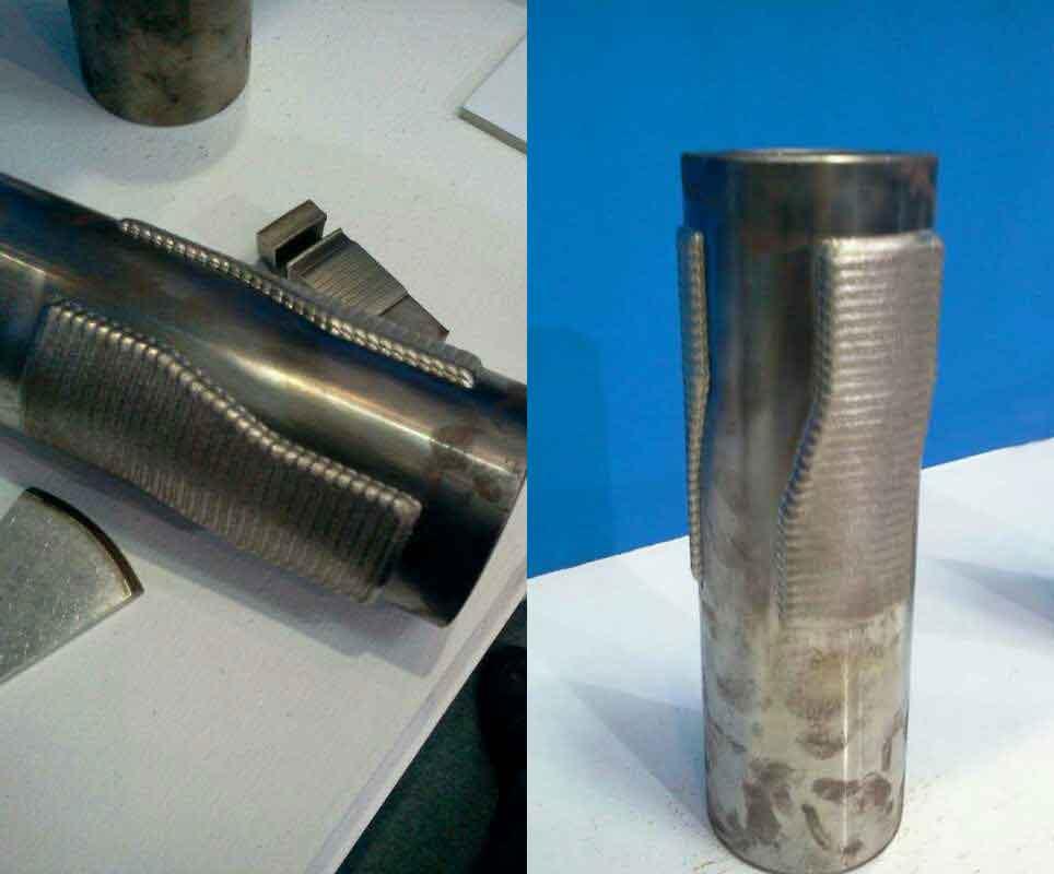 扶正器等离子喷焊案例图
