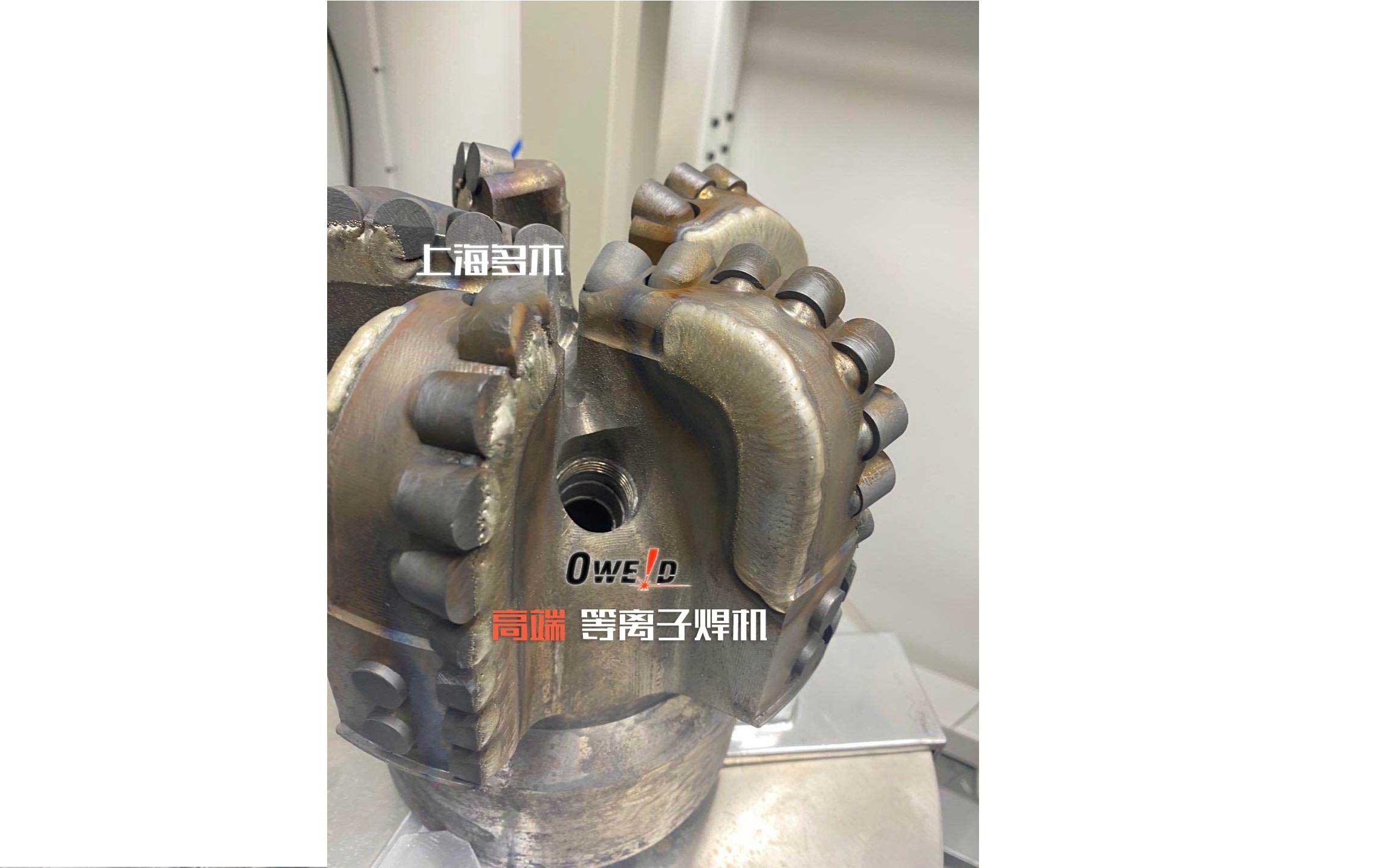 牙轮钻头堆焊案例