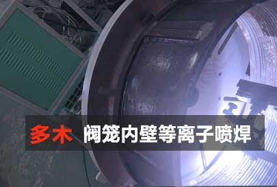 阀笼内壁涂层等离子喷焊处理视频封面