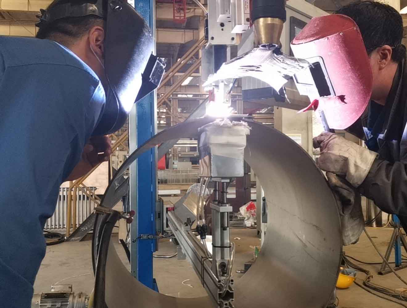 客户焊接与堆焊应用现场