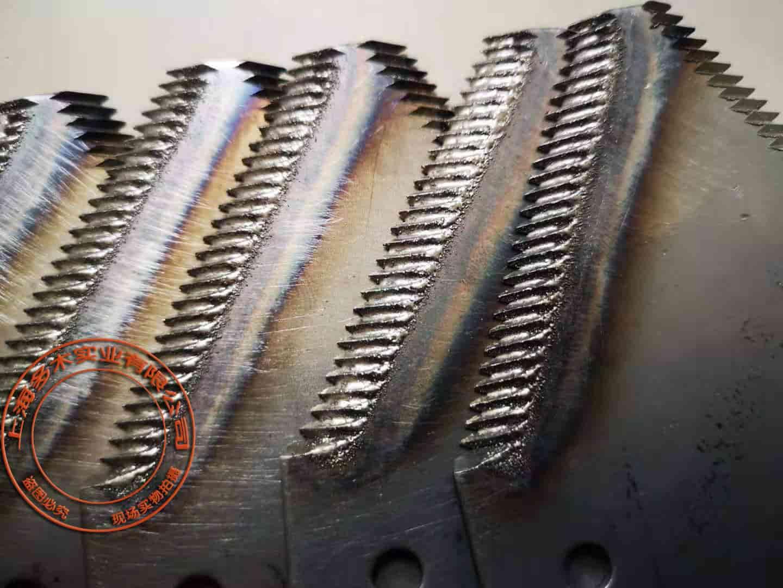 农机收割机刀片等离子熔覆堆焊案例图片
