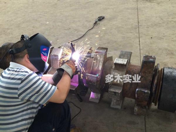 等离子堆焊修复磨损零件实例应用