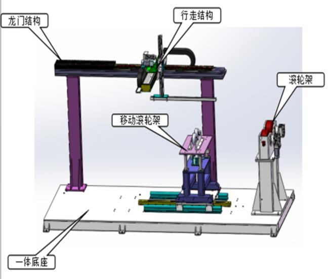 双锥注塑机料筒内孔熔覆专机(图1)